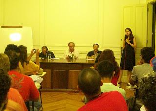 Roberto Piva, Claudio Willer e José Geraldo Neres