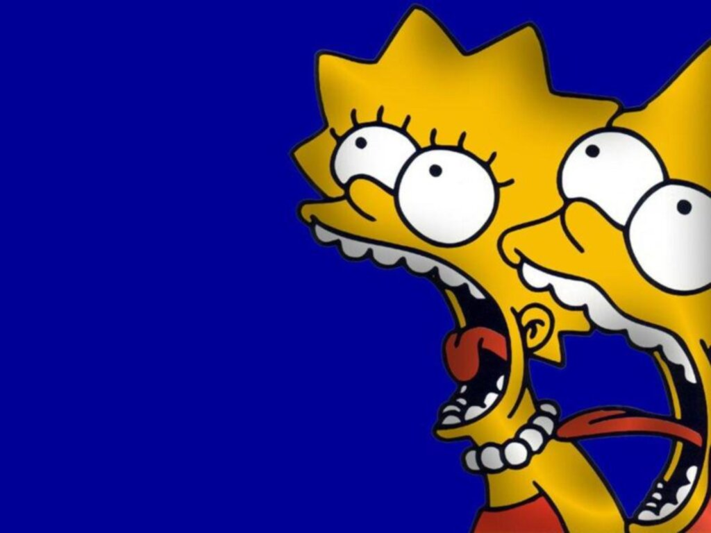 simpsons are the best bart and lisa simpson