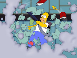 Homer Cleaning House