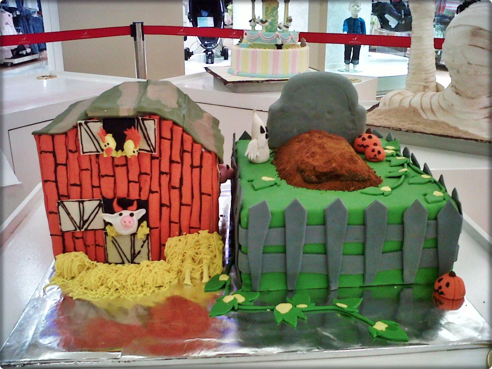... cakes on our way to buy Jennys birthday cake. Way to go Miki Ojisan