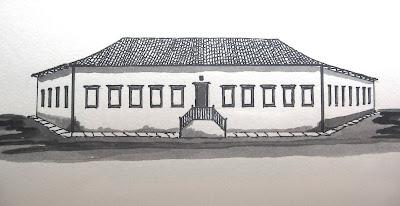 Fachada do Palácio Conde dos Arcos - 1782