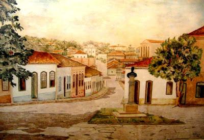 Obra de Goiandira do Couto: quadro do Largo do Rosário