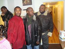 os nossos compatriotas: Mr. keve, Mr. Habibi & Adelino