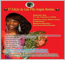 Concurso Miss Angola Benelux Realiza-Se Sábado Na Holanda