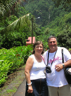 Cascadas de Faarumai, Tahití, Polinesia Francesa, vuelta al mundo, round the world, La vuelta al mundo de Asun y Ricardo