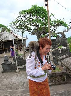Mono robo, Bali, Indonesia, vuelta al mundo, round the world, La vuelta al mundo de Asun y Ricardo