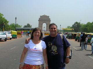 Puerta de la India, India Gate, Nueva Delhi, New Delhi, India, vuelta al mundo, round the world, La vuelta al mundo de Asun y Ricardo