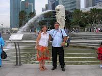 Merlión, Merlion, Singapur, Singapore, vuelta al mundo, round the world, La vuelta al mundo de Asun y Ricardo