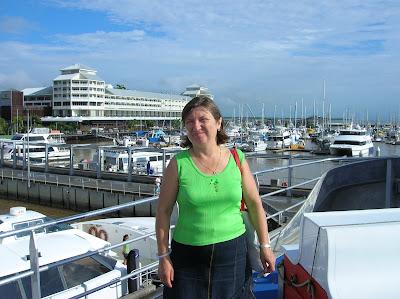 Puerto de Cairs, Cairns, Australia, vuelta al mundo, round the world, La vuelta al mundo de Asun y Ricardo