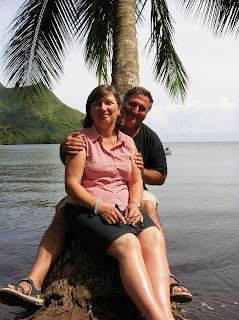Bahía de Maharepa, Moorea, Polinesia Francesa, vuelta al mundo, round the world, La vuelta al mundo de Asun y Ricardo