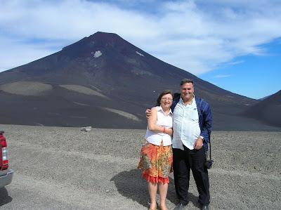 Volcán Lonquimay, Chile, vuelta al mundo, round the world, La vuelta al mundo de Asun y Ricardo