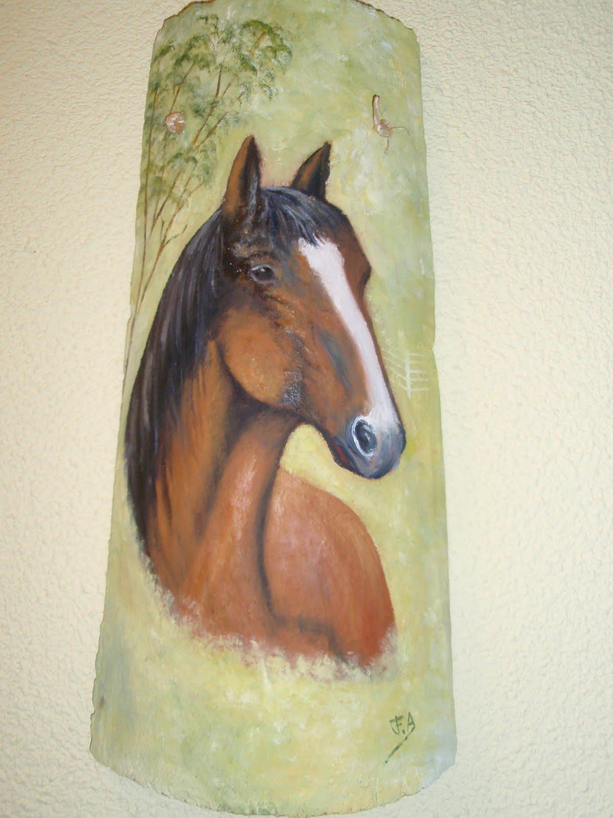 Mis mejores cosas teja pintada de oleo - Pintura para tejas ...
