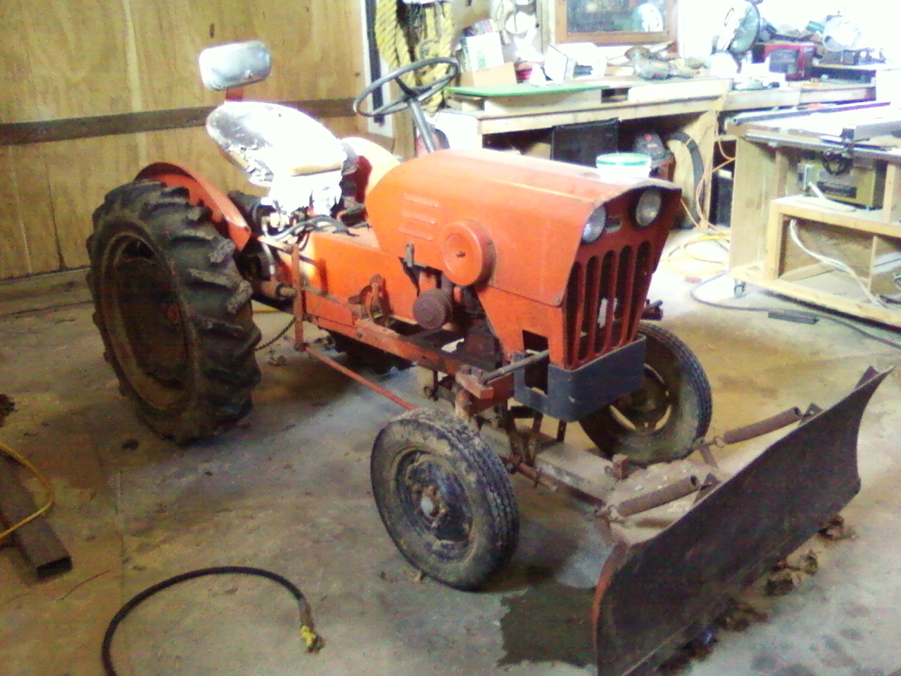Power King Economy Tractor Restoration  Power King Restoration