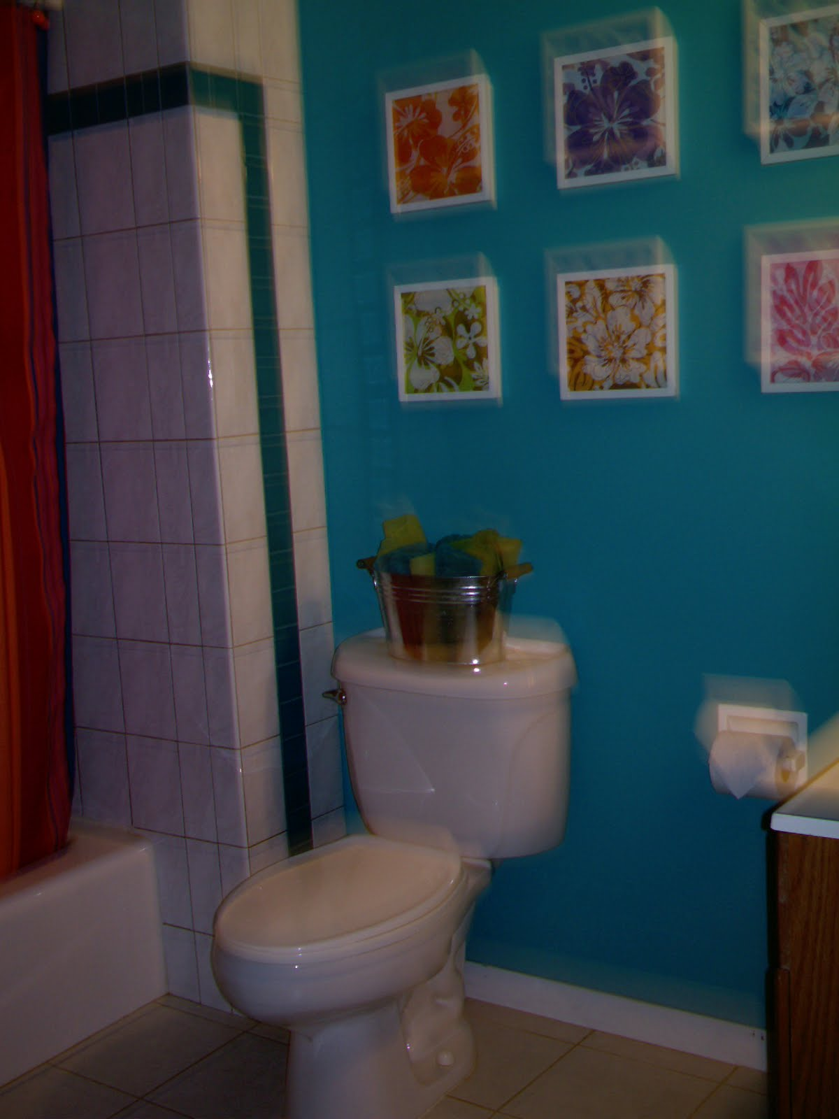 Val the Crafty Gal: hall Bathroom Remodel