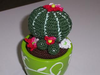 L 39 uncinetto di franca album piante grasse cactus for Piante grasse uncinetto