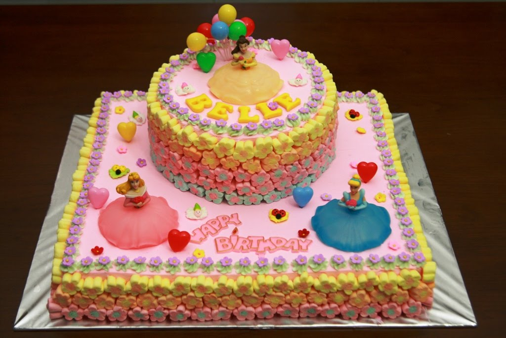 Haven Bakery Belle Birthday Cake Part 3 Princess Cake