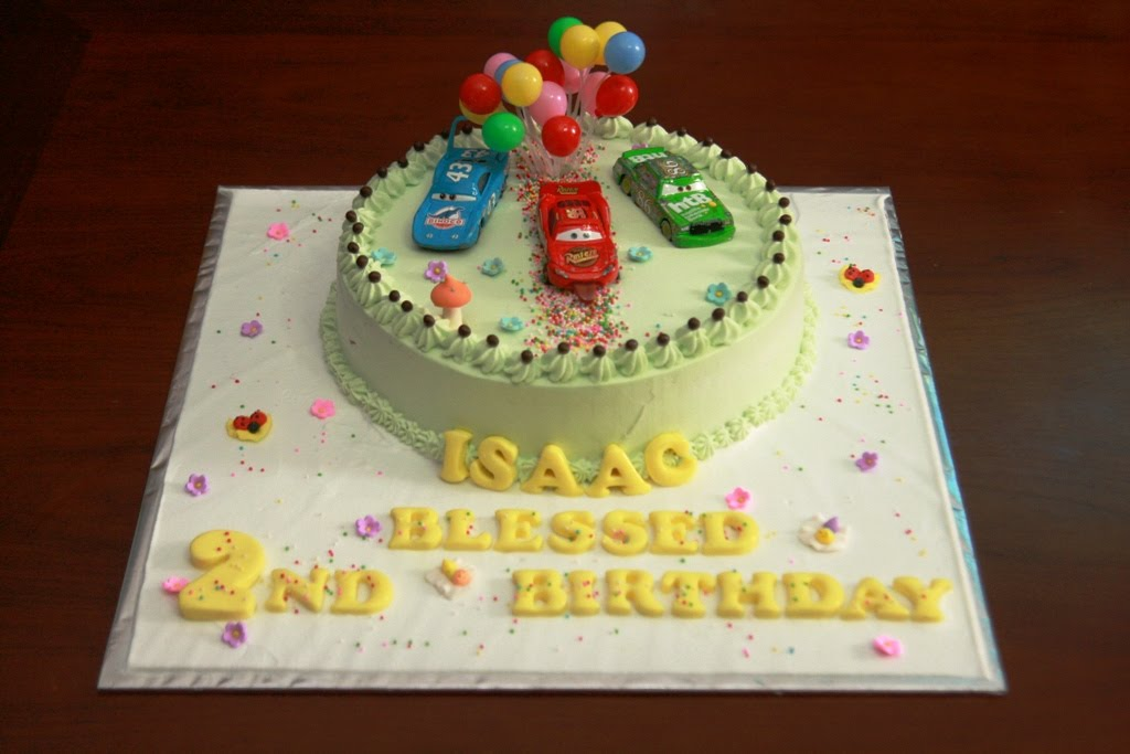 Cake Images With Name Ashu : Haven Bakery: Isaac Mcqueen Car birthday cake