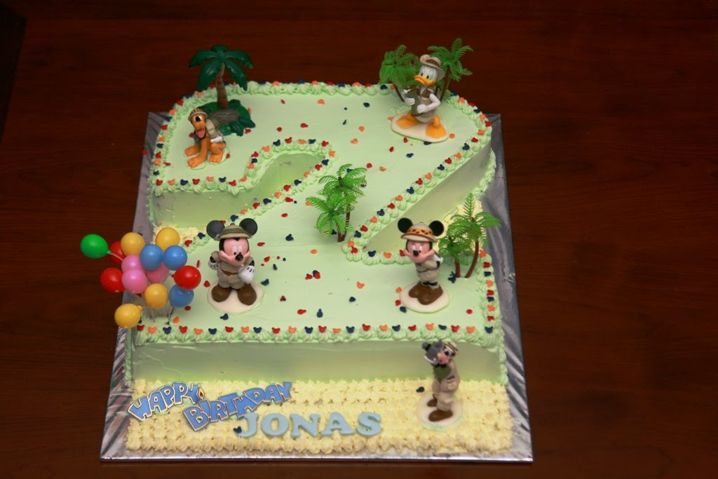 2nd Year Birthday Cake Designs For Baby Girl : Haven Bakery: Jonas 2nd Birthday cake