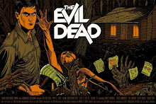 The Evil Dead movie poster  for Alamo Drafthouse
