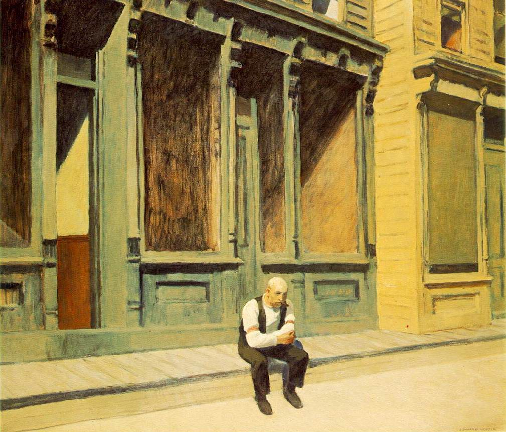 Edward Hopper -- Sunday