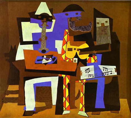 The Three Musicians -- Picasso