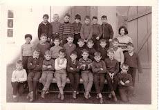classe 1957,  Ecole des Garçons, année scolaire  1965