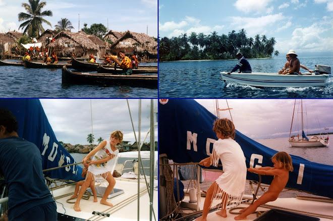 Aurevoir à nos amis des îles San Blas
