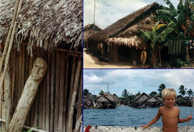 Leurs maisons au plus proche de la mer