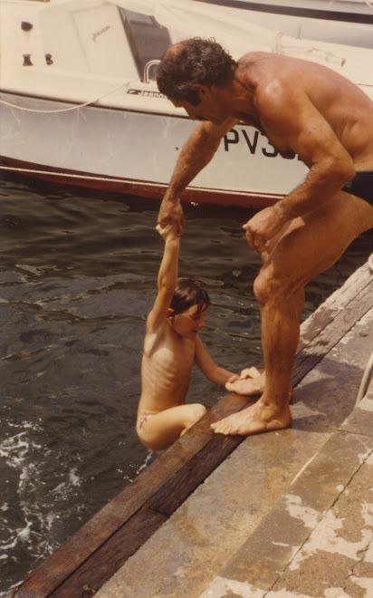Daniel à Port Camargue 1987