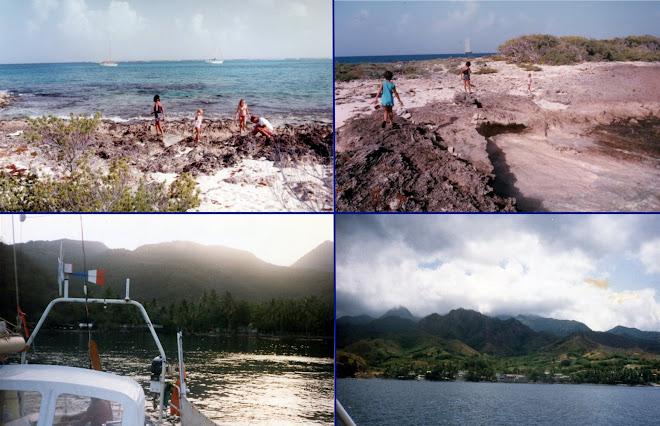 Balades et navigation entre les îles