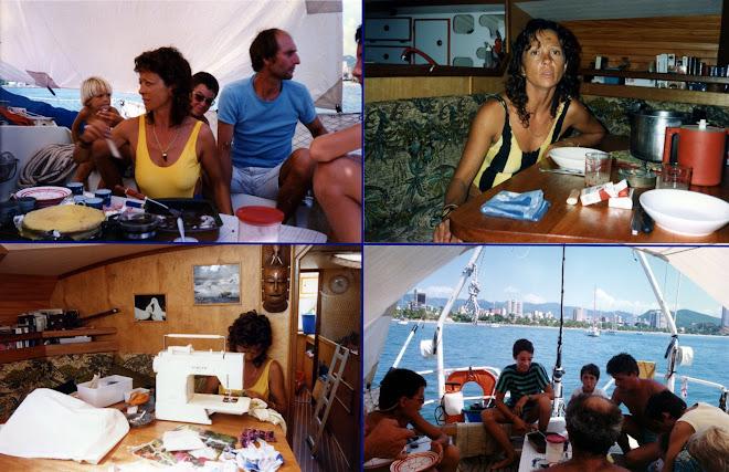 La vie à bord de Tikaï et Mowgli