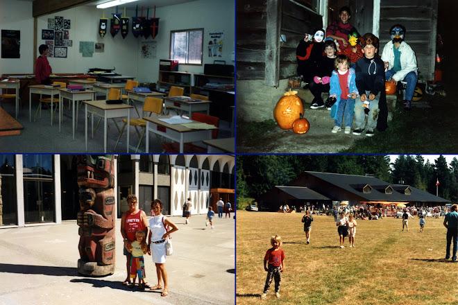 L'école, les visites et Halloween