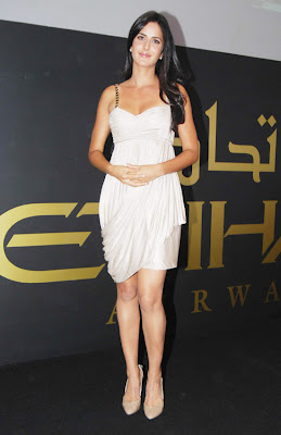 Katrina Kaif Photos in White Dress