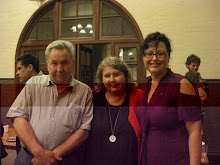 Kate Lilley, Editor,(centre) at Southerly launch