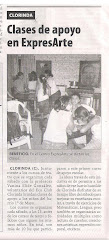 Clases de apoyo en expresARTE