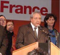 Jean-Paul Huchon et Mireille Ferri