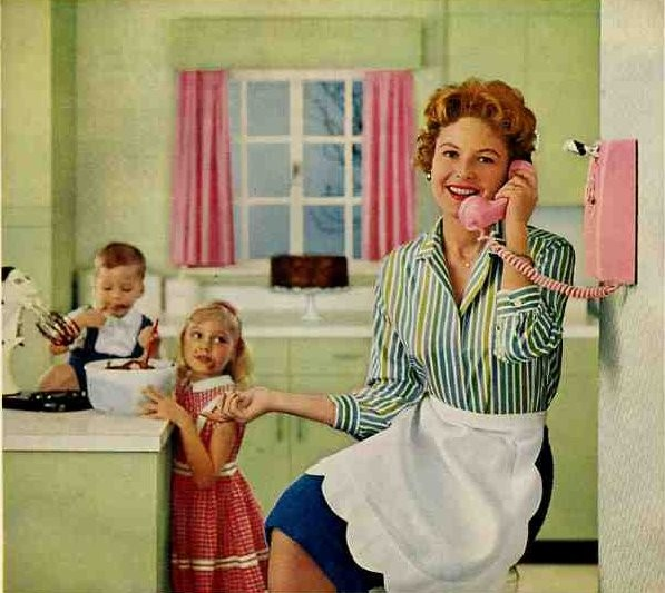 Women quotes 1950s housewife quotesgram for Classic 50s housewife