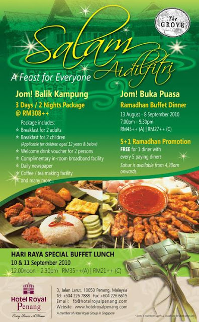 Ramadhan Buffet at Hotel Royal Penang