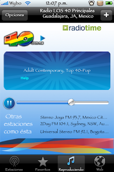 Para iphone WUNDER RADIO IPHONE