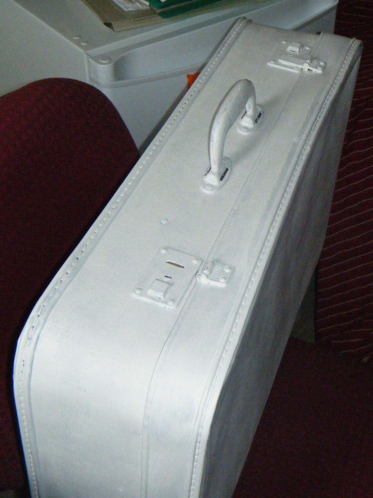 van een koffer een stoel maken