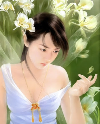 chinese girls wallpapers. Chinese girls painting