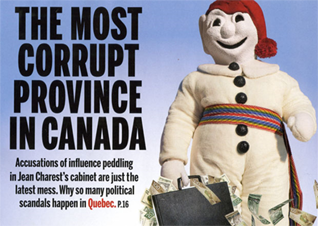 quebec corruption