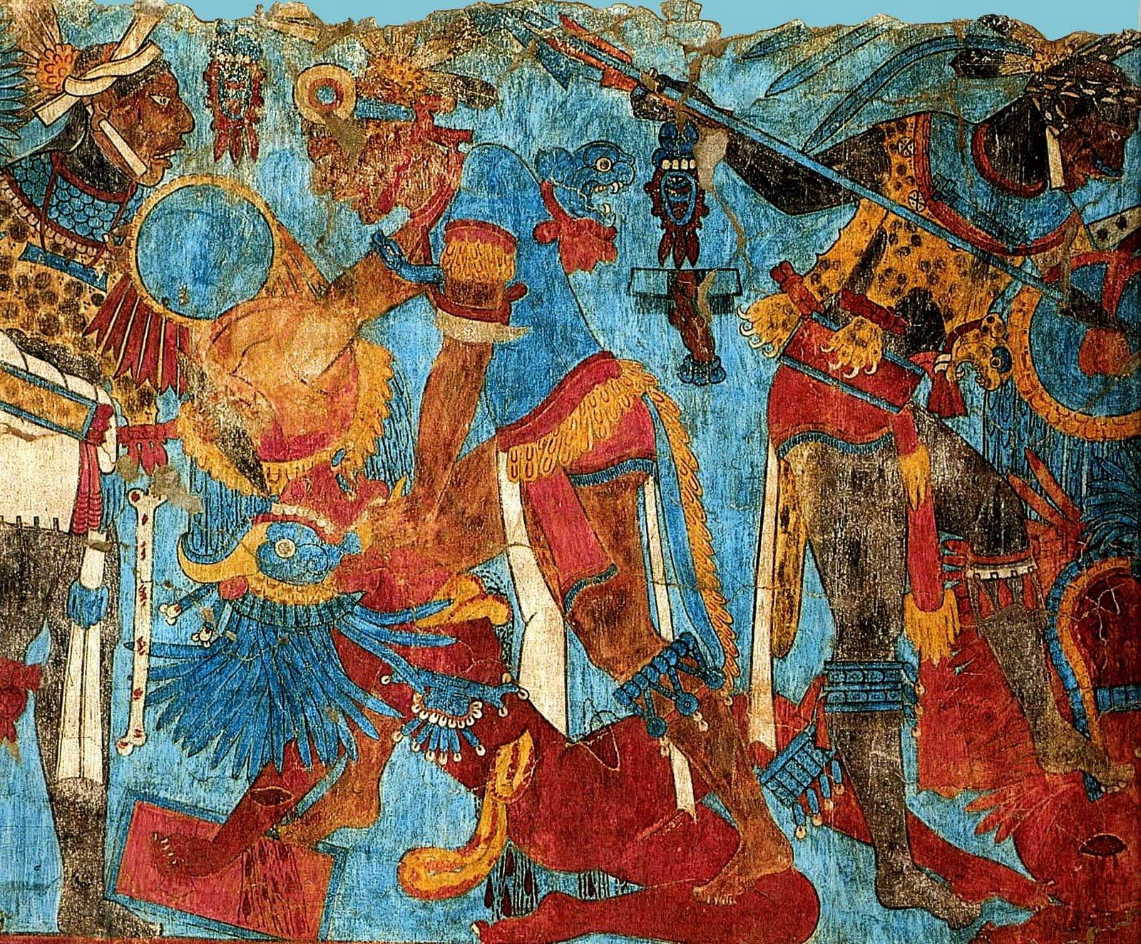 Docencia oscar robles sobre el muralismo mexicano for El mural de bonampak