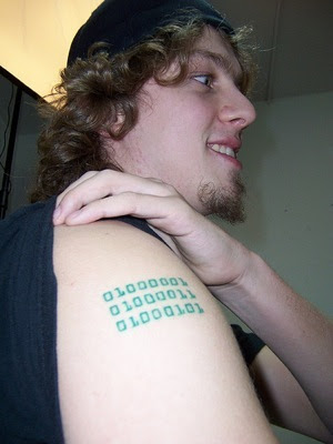 Information Technology Tattoos – New Fashion Design