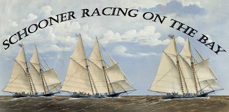 Schooner Racing on the Bay