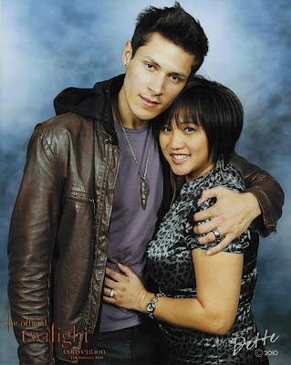 Dette and Alex Meraz, 2010 Los Angeles Twilight Convention
