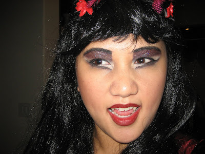 Vampire Geisha with Love Bites Fangs