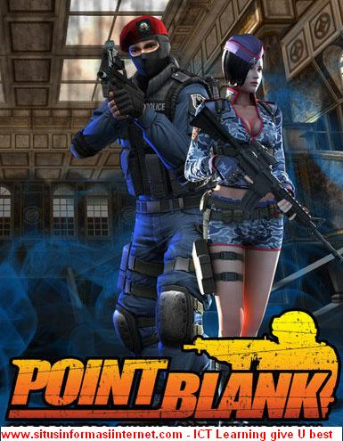 foto point blank indonesia. point blank character robot.