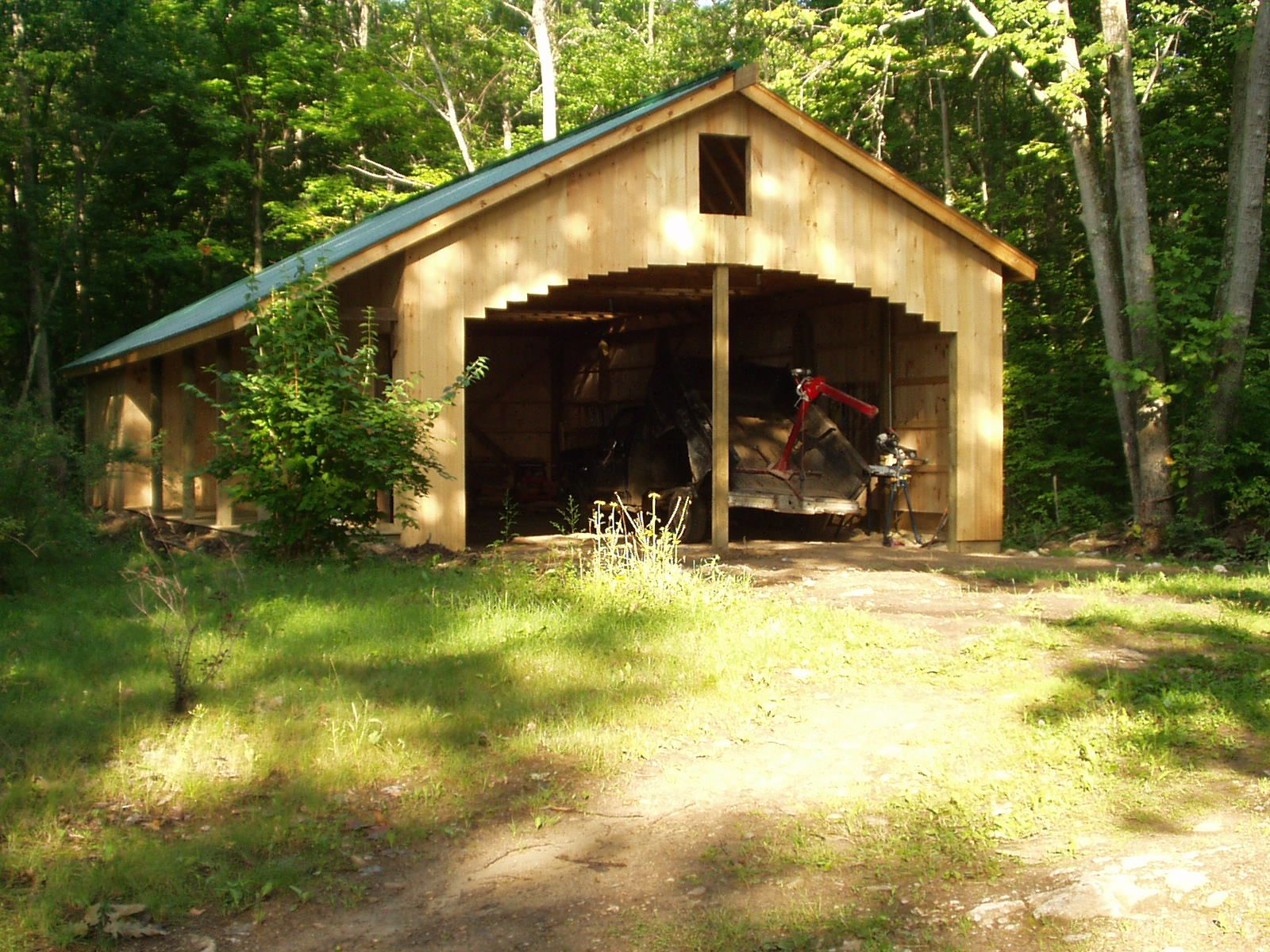 Build it yourself for dummies how to build a barn for Build your own barn online