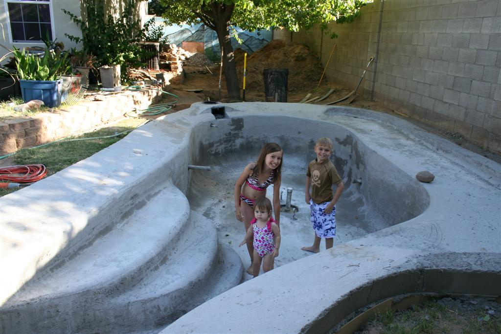 Cement Backyard Pond : Garden Pond Ramblings